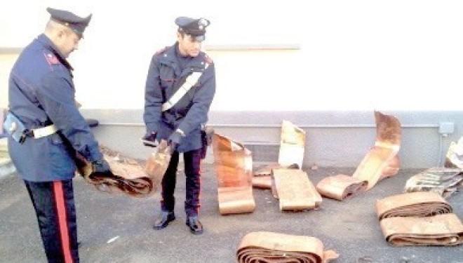 BIANZÈ: Rubavano il rame dalla ferrovia