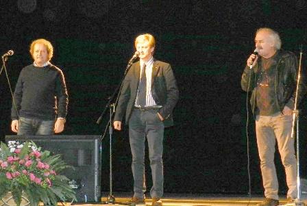 Gino, Adriano Matta e Gigi Carpegna i New Trolls