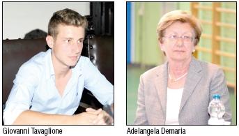 Giovanni Tavaglione e Adelangela Demaria