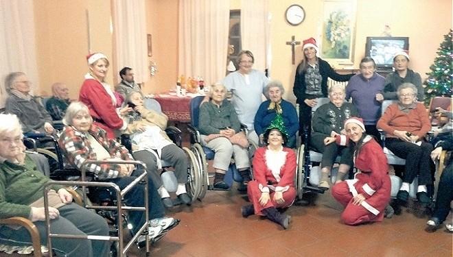 FONTANETTO PO: La festa di Natale alla casa di riposo