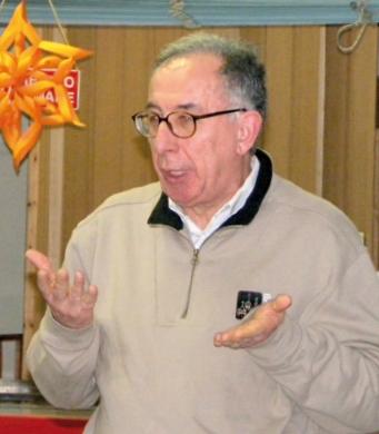 Il presidente Giovanni Momo
