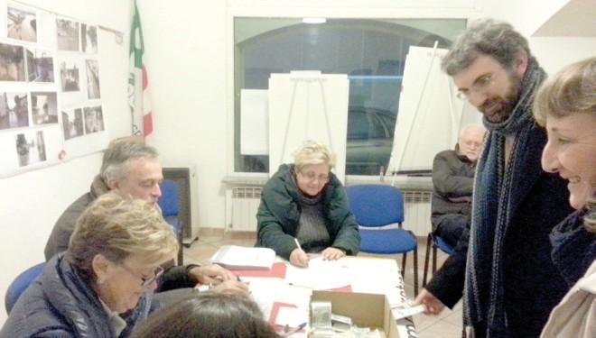 TRINO: Primarie del Pd: su 365 votanti 232 hanno scelto Matteo Renzi