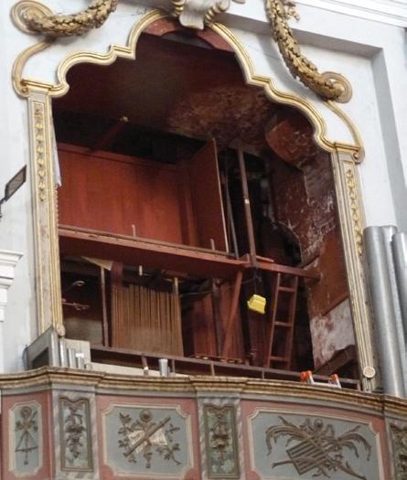 L'organo della chiesa livorno ferraris