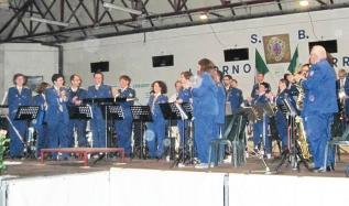 La Banda musicale comunale al bocciodromo
