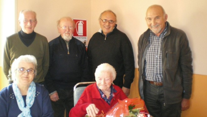 CRESCENTINO: I 101 anni di nonna Teresa