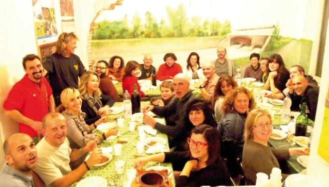 SALUGGIA: Cena di Natale del Canoa Club