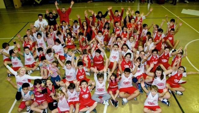 LIVORNO FERRARIS – Festa natalizia del basket a Livorno Ferraris
