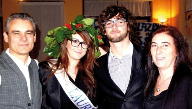 SALUGGIA: Congratulazioni ad Alessandra Iatarola