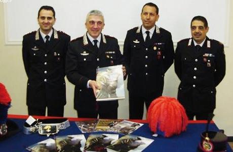 presentazione calendario carabinieri 2014