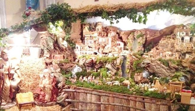 RONCHI: Il presepe meccanico nella chiesa dei Ronchi