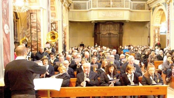 SALUGGIA: Festeggiata Santa Cecilia
