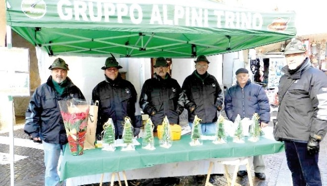 """TRINO: Gli Alpini propongono """"L'albero di Lucio"""""""