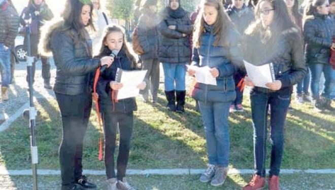 TRINO: Così il Comune e le scuole hanno partecipato alla Giornata contro la violenza sulle donne