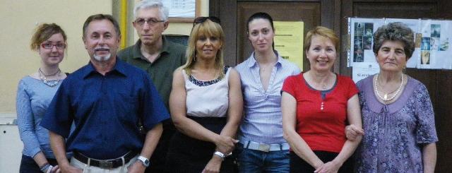 volontari della Biblioteca tronzanese