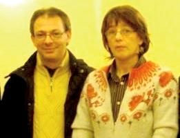Andrea Chemello ed Enrica Simonin