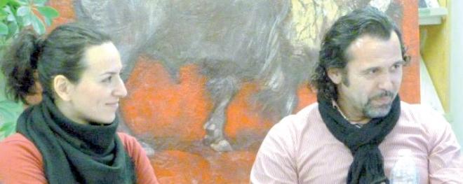 "Irina Turcanu e Viorel Boldis a ""Letture a Palazzo"" a Chivasso"
