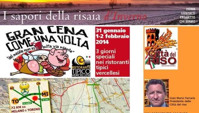 Da Venerdì 31 a domenica 2 febbraio – Vercelli: Il weekend dei Ristoranti Tipici vercellesi