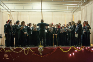 i cori di Borgo d'Ale insieme