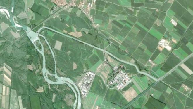 """SALUGGIA: Il Canale """"Sussidiario"""" Farini: l'acqua della Dora Baltea presa a Saluggia va ad irrigare oltre 100 mila ettari di risaie"""