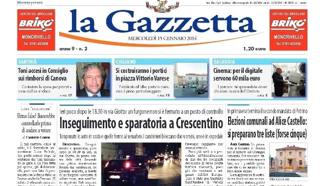 la Gazzetta 15 gennaio 2014