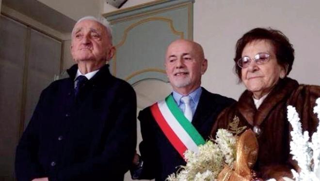 LIVORNO FERRARIS: Lui ha 86 anni, lei ne ha 92: Vi dichiaro marito e moglie