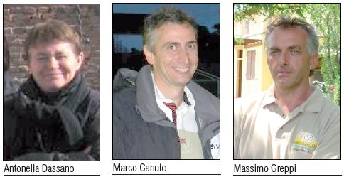 Antonella Dassano Marco Canuto Massimo Greppi