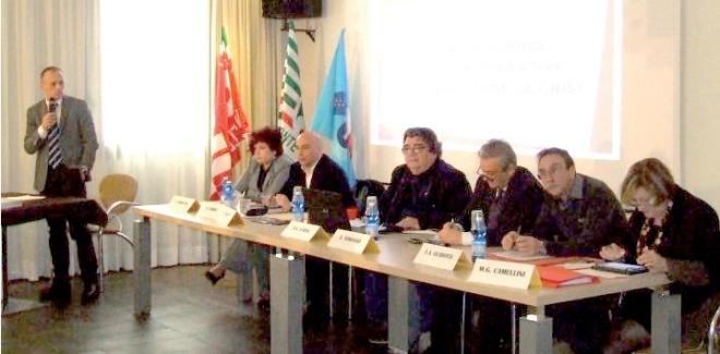 Convegno CGIL CISL UIL Vercelli e Valsesia