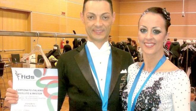 CIGLIANO: Danza: Elena e Christian Bono sono campioni italiani
