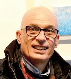 Il pittore Ennio Del Santo
