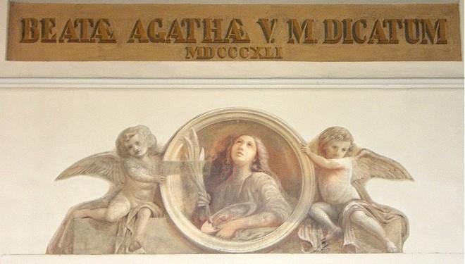 SANTHIÀ: La processione dei ceri: si festeggia Sant'Agata