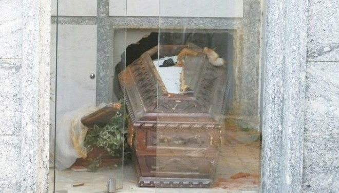 FONTANETTO PO: Profanata una tomba a Fontanetto