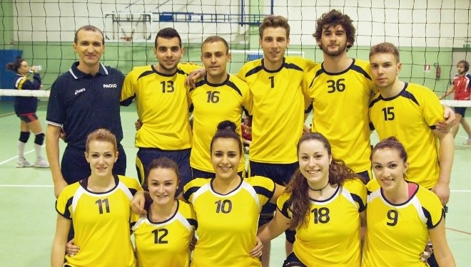 VOLLEY – Uisp: Black Saluggia perfetto