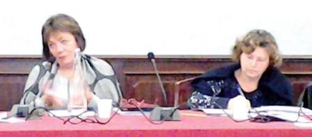 La sindaca Marinella Venegoni e il Segretario comunale Lucia Piazza