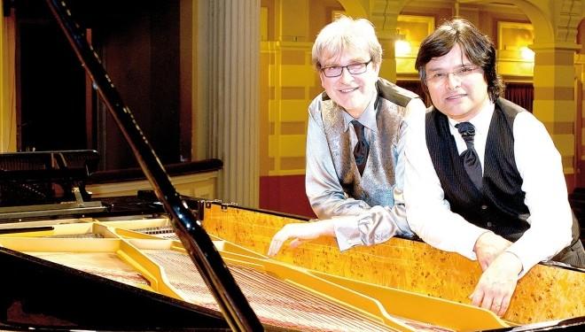 Sabato 8 febbraio – Vercelli: Al Viotti Festival An American Night con il duo pianistico Viazzo & Génot
