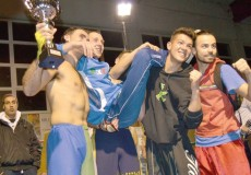 Golden Series kickboxing a Crescentino