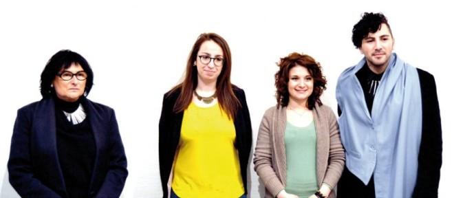 Carla Crosio, Alessia Tripodi, Laura Schilirò e Diego Pasqualin
