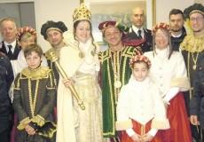 Carnevale 2014 a Crescentino: Il Carnevale prosegue con la Papetta e il Conte