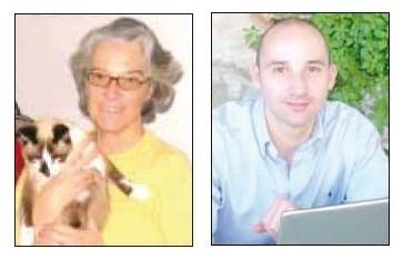 Cristina Quaranta e Luca Brunetti