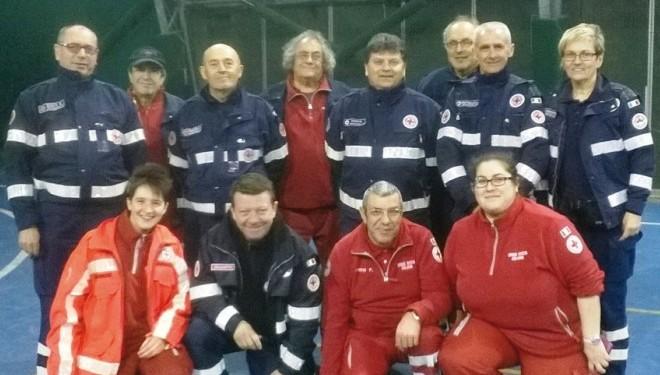 CRESCENTINO: Formazione Croce Rossa: Si impara l'uso del defibrillatore