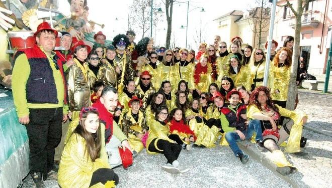 I Mooncravot premiati al Carnevale di Santhià