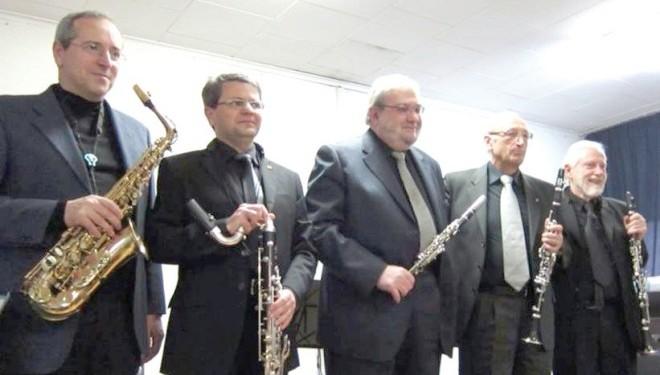 Venerdì 21 marzo – Saluggia: Un quintetto di clarinetti nella Giornata di ricordo delle vittime di tutte le mafie