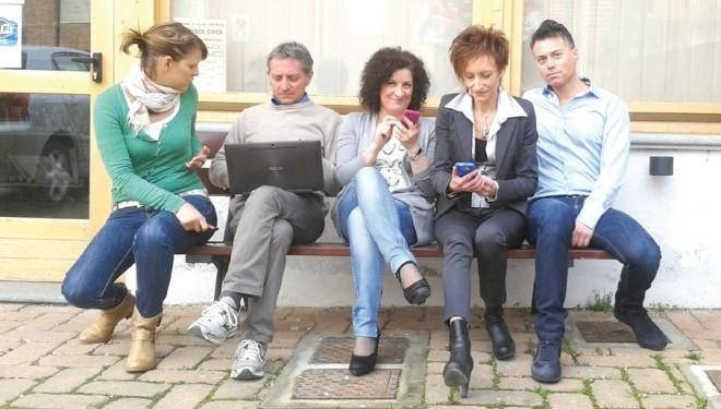 ALICE CASTELLO: In piazza Fratelli Monti c'è il wi-fi gratis due ore al giorno