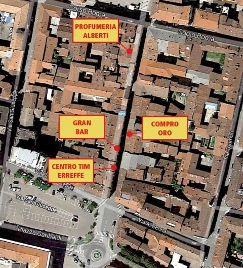 furti in Via Mazzini Crescentinofurti in Via Mazzini Crescentino