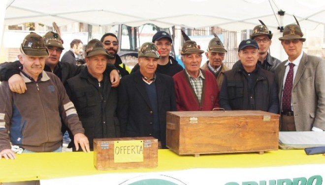SALUGGIA: Domenica il Gruppo Alpini festeggia il 35° di fondazione