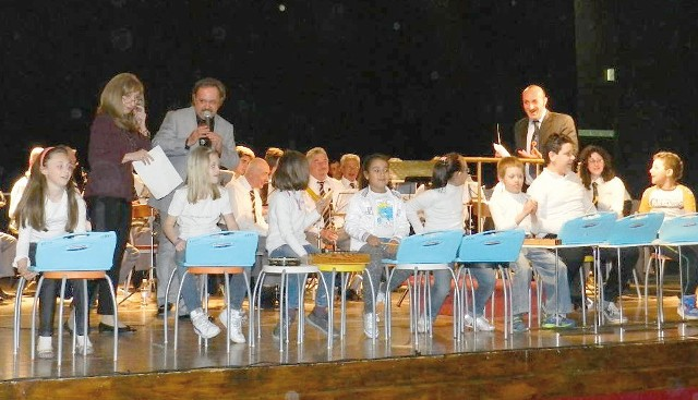 Gli allievi dei corsi musicali