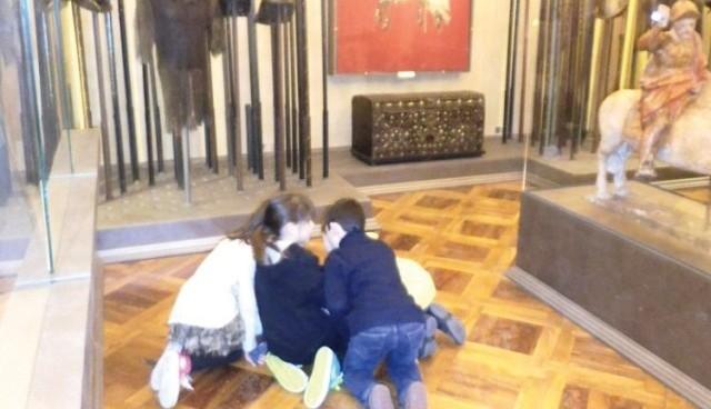 Piccoli visitatori al Museo