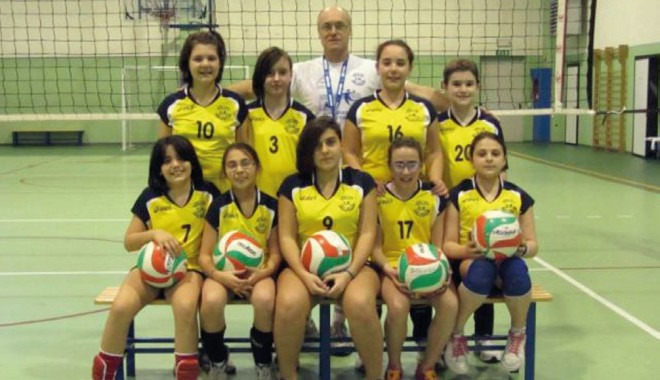 U12 dell'OmVolley Saluggia