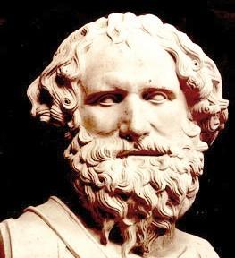 Un busto di Archimede