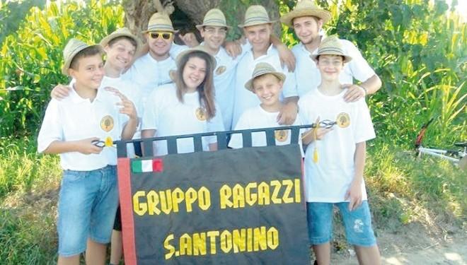Il Gruppo Ragazzi Sant'Antonino: fare qualcosa di utile per il paese