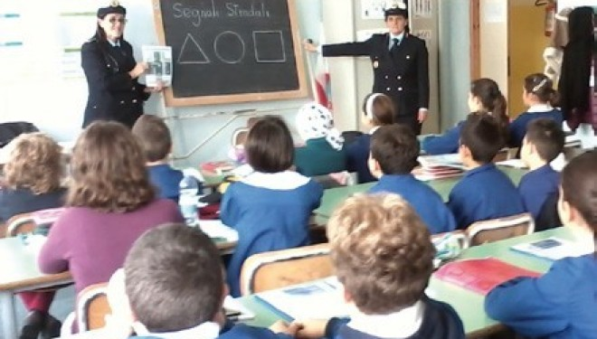 SANTHIÀ: Educazione stradale a scuola, dalle elementari alle superiori